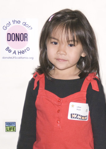 Lillian Huynh - Liver recipient - photo credit Julianne Bonner