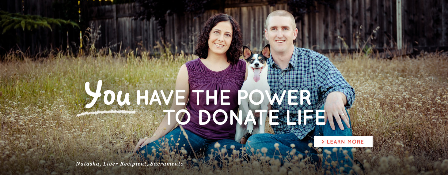 You have the power to Donate Life