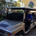 Sharp Golf Cart