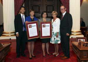 2015.04.20 Donate Life CA and DMV Floor Recognition