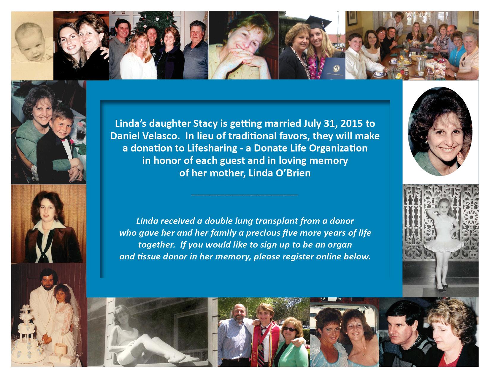 Linda O'Brien eCampaign